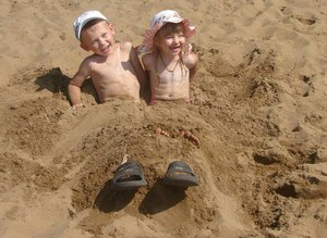 Песочное лето