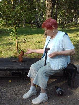 «Бабуля, ты еще придешь?»