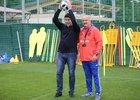 Денис Мацуев и Станислав Черчесов. Фото с сайта РФС