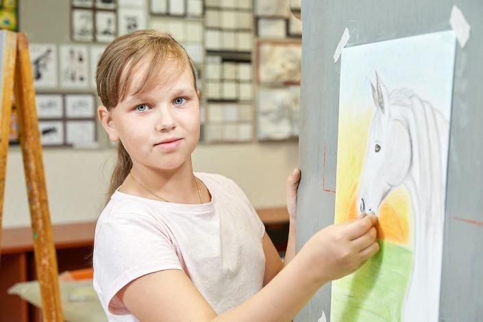 Фотографии предоставлены школой живописи и дизайна «Да Винчи»