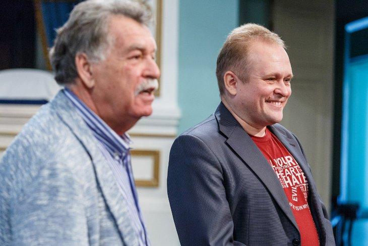Анатолий Стрельцов и Станислав Мальцев. Фото Анатолия Бызова