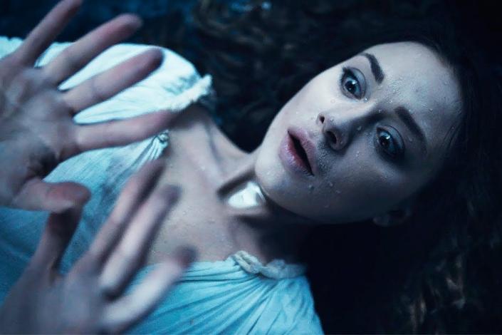 Юлия Франц в роли утопленницы в фильме «Гоголь. Страшная месть». Скриншот видео с Youtube.com