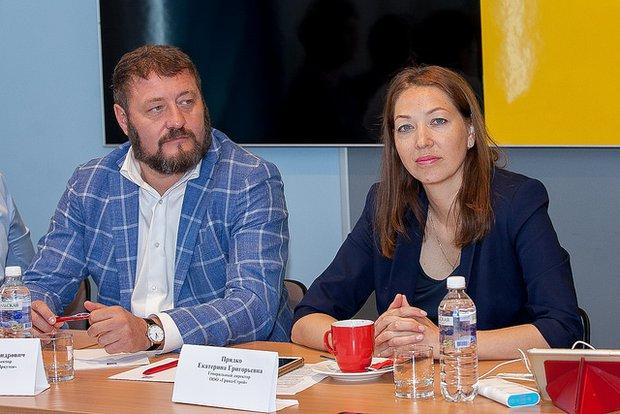 Михаил Сигал и Екатерина Прядко
