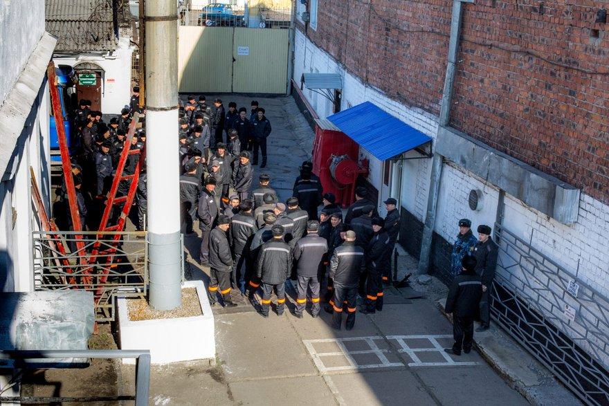 Заключенные ИК-3. Автор фото - Зарина Весна