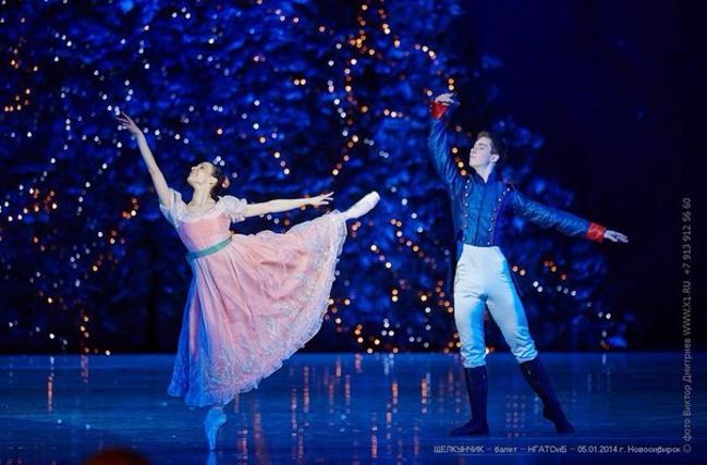 Зимнее адажио из балета «Щелкунчик» в постановке Мариуса Петипа