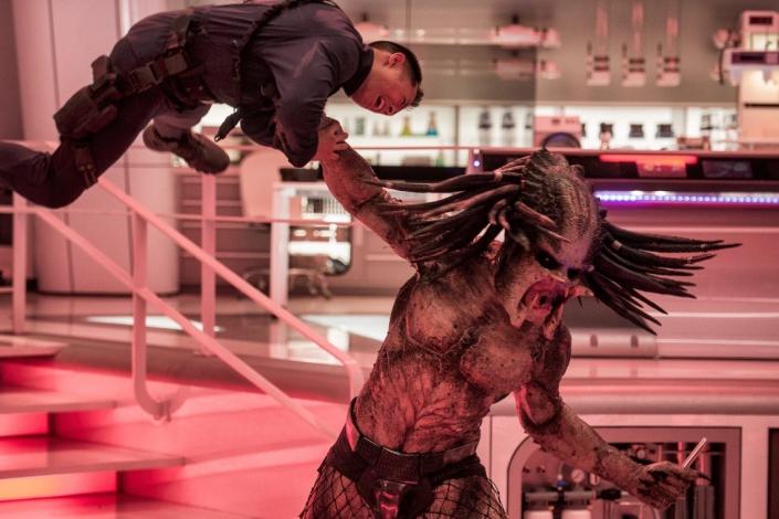 "Кадр из фильма ""Хищник"" 2018 года. Фото с сайта www.kinopoisk.ru"