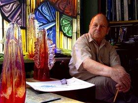 Выставка Бориса Бычкова «Волшебный мир стекла и хрусталя»