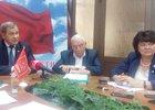 Евгений Рульков, Илья Сумароков и Ольга Носенко. Фото — IRK.ru