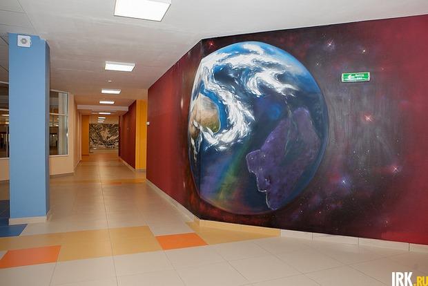 Внутренний дизайн школы