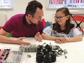 Курс робототехники в центре развития Kids Club