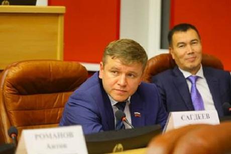 Тимур Сагдеев. Фото пресс-службы Заксобрания Иркутской области