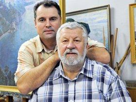 Выставка художников Павла и Олега Авенариусов «К России с любовью»