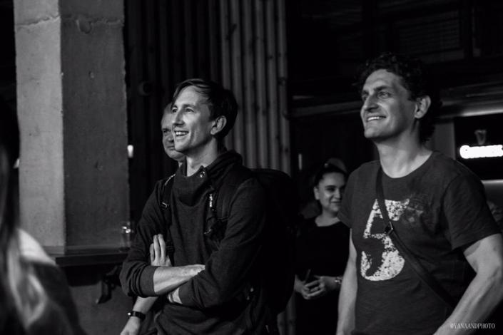 Тэм, вокалист группы Lumen (слева), на концерте группы Stempline в Уфе. Фото Яны Андреевой