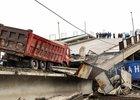Обрушение моста в Приамурье. Фото ТАСС
