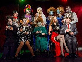 Хэллоуин в молодёжном камерном театре «Подвал». Вечеринка с показом спектакля