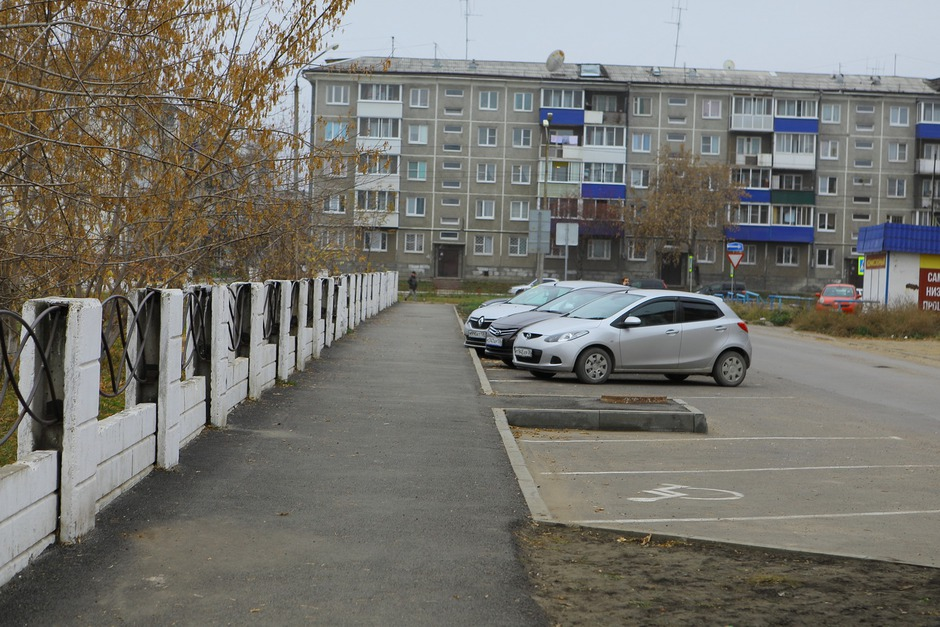 Тротуары, благоустроенные в рамках проекта «Народные инициативы»