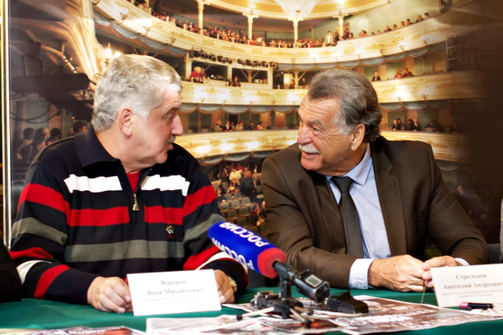 Яков Воронов и Анатолий Стрельцов. Фото Маргариты Романовой