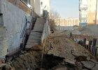 Разрушенная лестница. Фото прислал Борис Рябинин