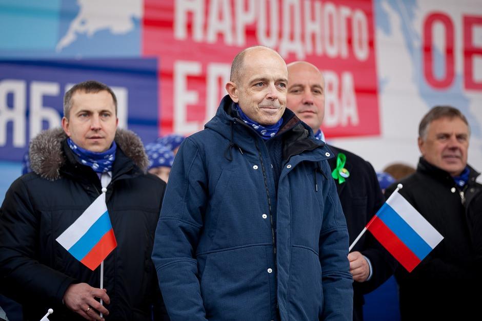 Сергей Сокол, спикер Законодательного собрания Иркутской области