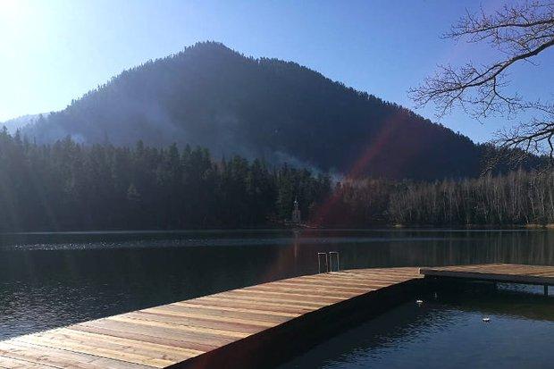 Тёплые озера. Фото Венеры Ивашковой
