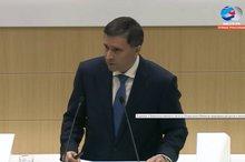 Дмитрий Кобылкин. Скриншот видеотрансляции