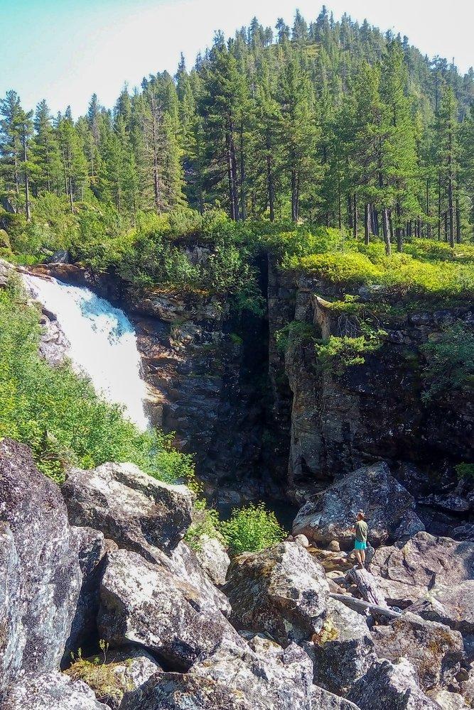 Водопад Грохотун