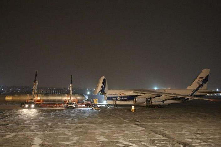 Фюзеляж самолета МС-21 доставили из Иркутска в Жуковский для испытаний      4 декабря 12:28
