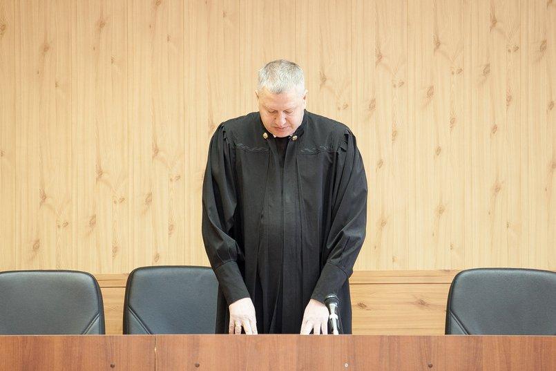 Судья Алексей Жигаев