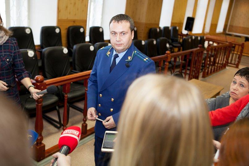 Старший прокурор отдела гособвинения прокуратуры Иркутской области Александр Шкинев