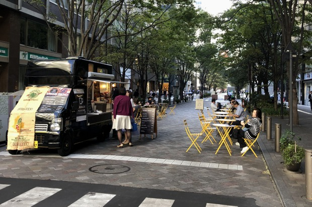 Даже в центре Токио есть тихие кварталы, где можно отдохнуть