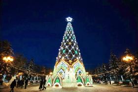 Открытие главной елки Иркутска