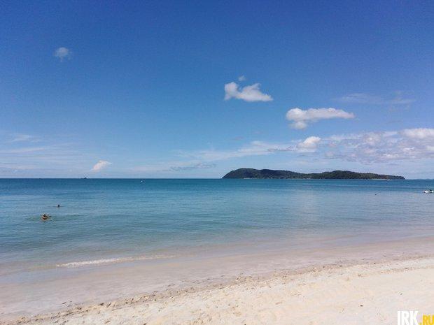 Пляж курорта Лангкави