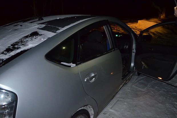 Машина арестованного. Фото пресс-службы ГУ МВД по Иркутской области