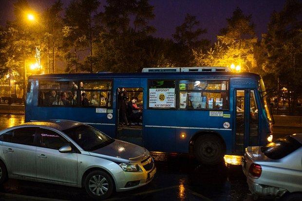 Иркутский автобус. Фото - IRK.ru