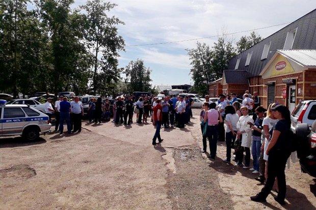 Поиски девочки. Фото пресс-службы ГУ МВД по Иркутской области