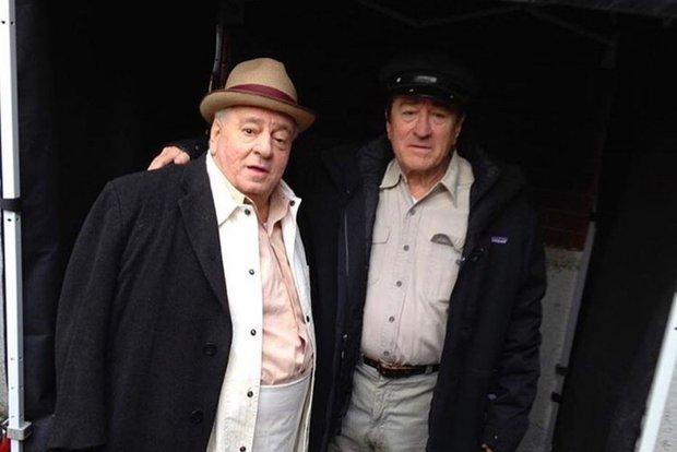 На съемках фильма «Ирландец». Фото с сайта www.kinopoisk.ru