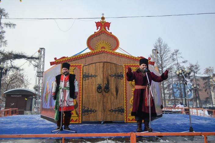 Рождественский концерт в сквере Кирова. Автор фото - Илья Татарников