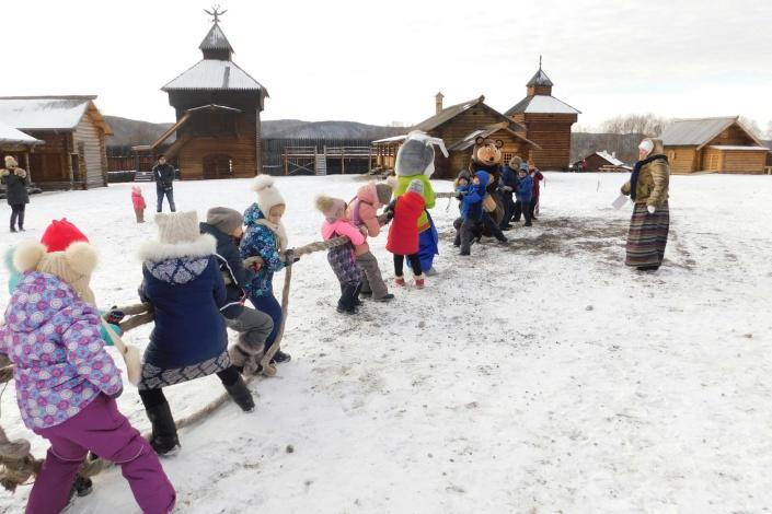 Игры в «Тальцах». Фото с сайта vk.com/irkutsk.talci