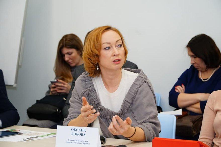 Оксана Лобова. Фото - Илья Татарников