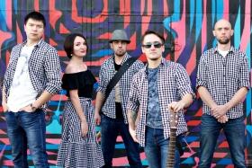 Группа «Контрабанда» в гастропабе «Камчатка»