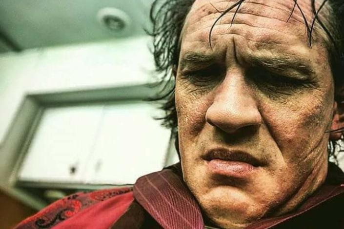 На съемках фильма «Лицо со шрамом». Фото с сайта www.kinopoisk.ru