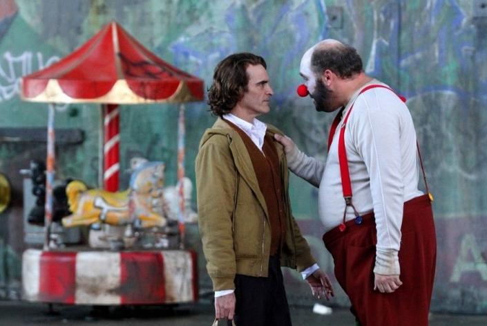 На съемках фильма «Джокер». Фото с сайта www.kinopoisk.ru
