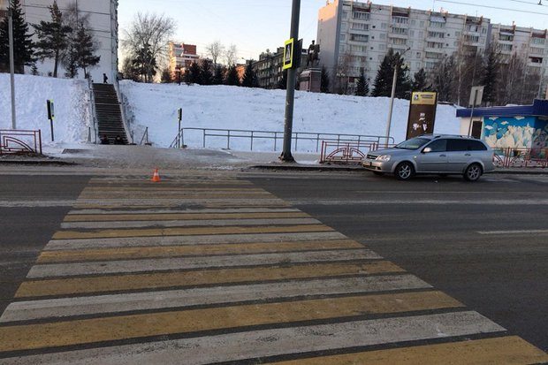 На месте аварии на Маршала Жукова
