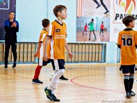 Мастер-класс по мини-футболу для детей пяти-шести лет
