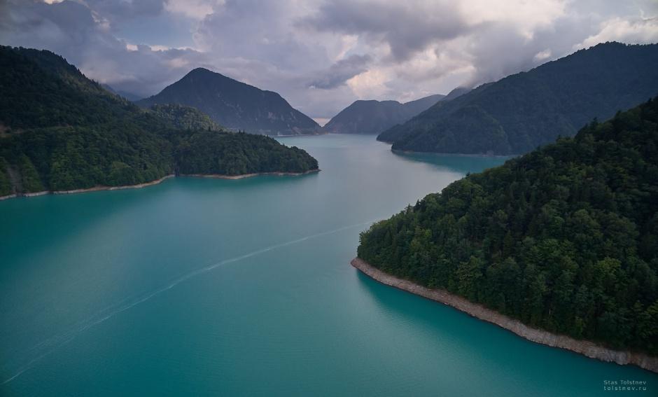 Озеро Ингури