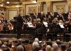 Скриншот видео с выступления Иркутского губернаторского оркестра в Вене