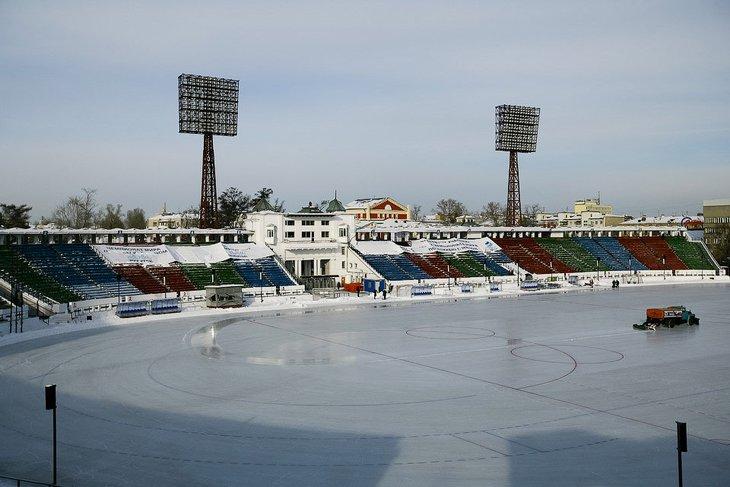 Стадион «Труд». Фото из архива IRK.ru