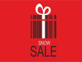 Snow sale* — ночь распродаж