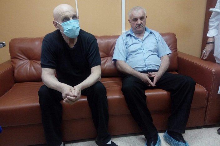Пациент (слева) и донор (справа) Фото IRK.ru