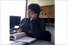 Диспетчер Татьяна. Фото пресс-службы ГУ МЧС по Иркутской области